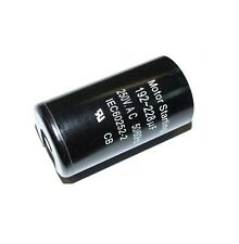 MOTOR / COMPRESSOR RUN START CAPACITOR 192-228 µF UF MICROFARAD 220V 240V 250V
