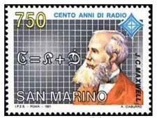 San Marino 1991 100 anni di radio 1° serie Mnh