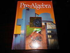Pre-Algebra by Price homeschool student textbook Clencoe