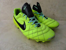 Nike Jr Tiempo Natural IV Leather Football Boots Size UK 5 EUR 38