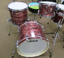 LUDWIG KEYSTONE SHELL KIT IN SALMON OYSTER