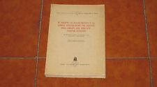 IL DIRITTO DI STABILIMENTO E LA LIBERA PRESTAZIONE DEI SERVIZI NEL M. E. C. 1966