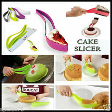 NEW CAKE PIE SLICER SHEET GUIDE CUTTER SERVER BREAD SLICE KNIFE KITCHEN
