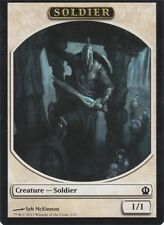 MTG 4 x Soldier Tokens Theros  1/1 White