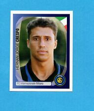PANINI-CHAMPIONS 2007/2008-Figurina n.175- CRESPO - INTER -NEW BLACK