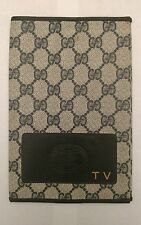 Authentic Vintage GUCCI TV Guide Accessory Book Cover Very RARE