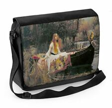 Lady of Shalott John William Waterhouse Painting Laptop Messenger Bag