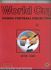 1970-2010 Panini WORLD CUP 2 Book Collection in hard outer cover Great condition
