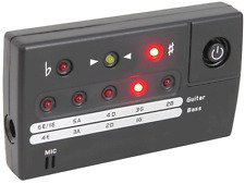 CHORD CT64 - Guitar & Bass LED Digital Auto Tuner Mic & Jack Input 172.266UK