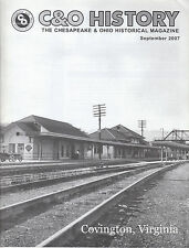 C&O HISTORY MAGAZINE, SEPTEMBER, 2007 COVINGTON, VIRGINIA, G-5 CONSOLIDATION
