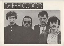 Original Dr. Feelgood - Malpractice 1975 Japanese Press Kit. Rare!