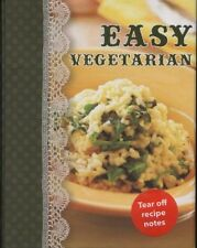 NEW BOOK Shopping Recipe Notes-Easy Vegetarian by Lorena Susak