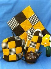 PW KITCHEN SET - Pattern TEA COSY, Placemat, Oven Mitt