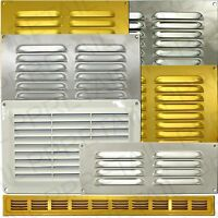 SMALL-LARGE LOUVRE AIR VENTS HUGE RANGE Ventilator Duct Brick Wall Grille Cover