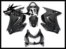 Kawasaki 2008-2012 Ninja250R Ninja 250R ABS Injection Molding Fairing Set Black