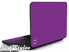 LidStyles PURPLE Vinyl Laptop Skin Cover Protector Decal fits HP PAVILION G6