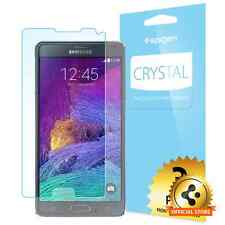 Spigen® For Samsung Galaxy Note 4 [Crystal] Premium Clear Screen Protector [3PK]