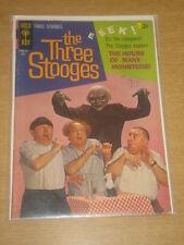 THREE STOOGES #24 VG+ (4.0) GOLD KEY COMICS JULY 1965