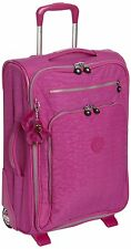 Kipling Youri 55 Cabin Sized Trolley Bag Suitcase,Pink Orchid, K1531513K,RRP£148