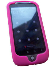 Housse silicone rose Google Nexus One