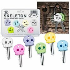 Skeleton Cool Chimp Rubber Key Cap Covers Toppers Five 5 Color Keychain