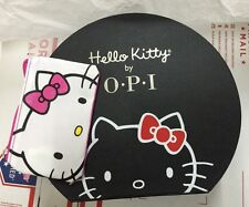 "Hello Kitty by OPI ""Hat"" Display Case/Storage Box + Hello Kitty Cosmetic Bag OPI"