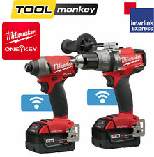 Milwaukee M18ONEPP2A-502X One Key Fuel Percussion Drill and Impact Driver Kit