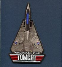 "US NAVY GRUMMAN F-14 TOMCAT VF Top Gun Fighter Squadron Triangle 4 1/2"" Patch"