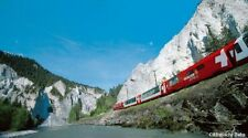 New Kato N gauge 10-1146 Alpine Glacier Express 4 Car Add-on Set