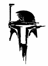 Decal Vinyl Truck Car Sticker - Star Wars Boba Fett Helmet V2