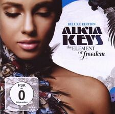 "ALICIA KEYS ""THE ELEMENT OF FREEDOM"" CD+DVD DELUXE NEU"