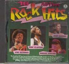 16 All-time rock Hits Jimi hendreix, statu quo, Alice Cooper, John Ma [CD album]