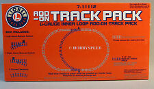 LIONEL G GAUGE INNER LOOP ADD ON TRACK PACK  switch curve straight scale 7-11112