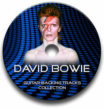 DAVID BOWIE STYLE POP ROCK GITARRE PLAYBACK TITEL MP3 CD ANTHOLOGY JAM TRAXS