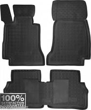 MERCEDES W213 E-CLASS 2017- Rubber Car Floor Mats All Weather Alfombras ONLY 2WD