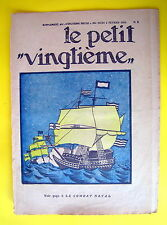 TINTIN HERGE LE PETIT VINGTIEME NO 5 DE 1933 BE