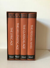 FOLIO SOCIETY HISTORY OF ANCIENT GREECE 4 BOOK SET AS NEW UNREAD CONDITION