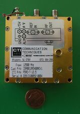 Herley CTI phase locked PDRO precision oscillator 12500 MHz, 12.5 GHz, tested