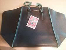 Vince Camuto Navy Blue Ladies Tote Bag Shopping Beach Travel