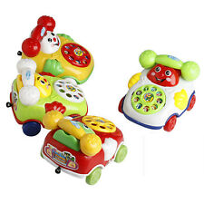 New Baby Toys Music Cartoon Phone Educational Developmental Kids Toy Gift