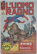 L'UOMO RAGNO - NR. 37 - 16 SETTEMBRE 1971 - ANNO II - RHINO ALLA RISCOSSA