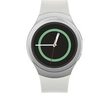 Samsung Gear S2 SM-R730T  T-Mobile  Silver / White - New Condition Smart Watch