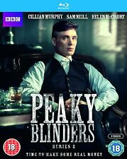 PEAKY BLINDERS Stagione 2 BOX 2 BLURAY Lingua Inglese NEW .cp