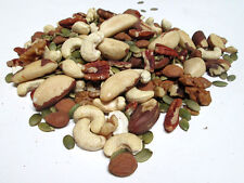 Organic Raw Mixed Nuts, 5 lb (Pecan,Walnut, Brazil Nuts, Almonds, Cashews....)