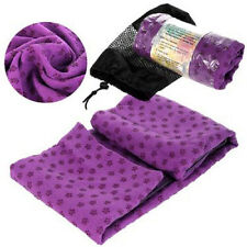 Sport Fitness Travel Exercise Yoga Mat Cover Towel Blanket Non-Slip Pilates UK!