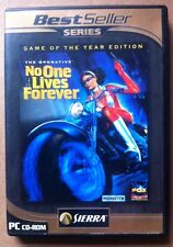 No One Lives Forever Game of the year edition Sierra online