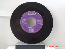 BOB ROUBIAN -(45)- BLUE SUEDE SHOES / CANDY COATED KISSES - CAPITOL  3373 - 1956
