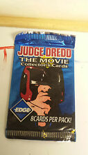 JUDGE DREDD THE MOVIE COLLECTORS CARDS 8 CARDS IN THE PACK NEW AND SEALED