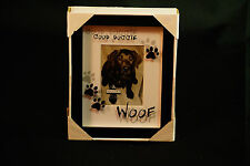 MALDEN DESIGN KEEPSAKE PICTURE FRAME 3.5 X 5 VERTICAL GOOD DOGGIE WOOF DOG PET