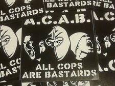 50x ACAB Aufkleber / ACAB stickers Ultras Punk Hooligans Ultra Oi Fußball 1312